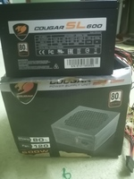 Used Cougar Sl 600 power supply bronze 80+ in Dubai, UAE