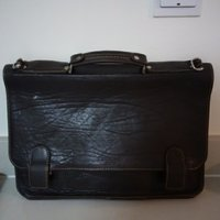 Used Original Pierre Cardin men's leather bag in Dubai, UAE