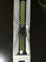 Used Apple watch strap 38 and 42mm green in Dubai, UAE