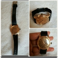 Used Authentic old OMEGA watch Gold original in Dubai, UAE