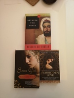 Used 3 Books:Between Two Wives/Forbidden Love in Dubai, UAE