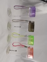 1pc Portable galss cup with cover