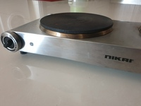 Used electrical double plate cooktop in Dubai, UAE