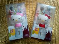 Used Hello Kitty Retractable Earphone/Keychain 2pieces in Dubai, UAE