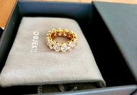 Used Brand new Sterling silver ring with box in Dubai, UAE
