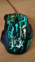 Used Gaming mouse good condition and colorful in Dubai, UAE