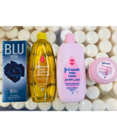 Used Bundle offer.Johnson's 3 items and spray in Dubai, UAE