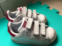Used Addidas white shoes USED for toddler in Dubai, UAE
