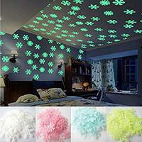 Used 50 PCS 3D Luminous Snowflake Home Decor in Dubai, UAE