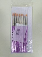 Used Nail Art brushes sets, 7 pcs in Dubai, UAE