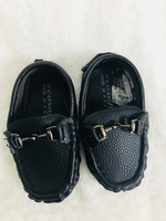 Used Baby loafers black 6-9 months!!  in Dubai, UAE