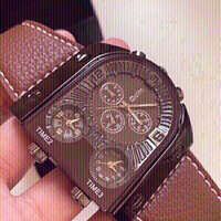 Used  brown new oulm watch in Dubai, UAE