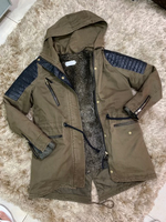 Used Zara winter jacket  in Dubai, UAE