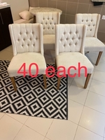 Used Dining chairs beige  in Dubai, UAE