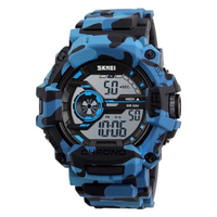 Used blue army camo watch  in Dubai, UAE