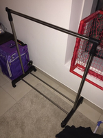 Used Clothing Rack with wheels in Dubai, UAE