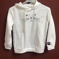 Used White hoodie size XL(new) in Dubai, UAE