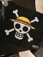 One Piece Pirate Flag Original Merc