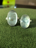 Used Antique Quartz Silver 925 (2 rings) in Dubai, UAE