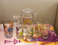 Used Glass and Pitcher Set in Dubai, UAE