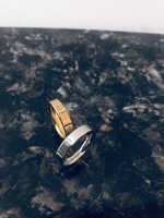 Used Cartier Silver & Gold Plated Rings in Dubai, UAE