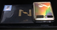 Used Samsung Z Flip Gold in Dubai, UAE