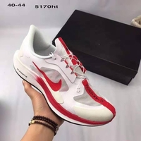 Used NIKE MEN SHOES 40 to 45 white with red in Dubai, UAE