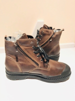 Used Boots size 44 brown  in Dubai, UAE