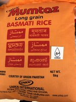 Used Classic Mumtaz long grain basmati Rice in Dubai, UAE