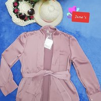 Used New Dark Pink Blouse in Dubai, UAE