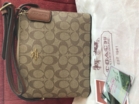 Used Coach sling bag - coffee brown color in Dubai, UAE