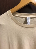 Used NEW Alternative T-shirt Size M Beige  in Dubai, UAE