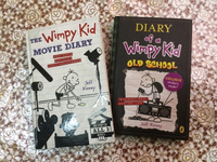 Used Wimpy kid books / movie dairy/old school in Dubai, UAE