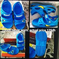 Used DORY crocs Brand NEW. 2-3yrs Old in Dubai, UAE