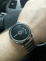 Used Japan Quartz Steel Watch 》Silver New in Dubai, UAE