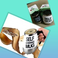 Used Buy 1 get 1 self stirring mug in Dubai, UAE