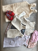 Used Baby girl bundle new dresses 6-9 months in Dubai, UAE