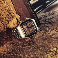 CASIO Steel illuminator Original Watch