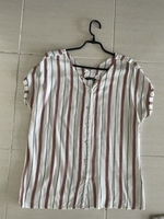 Used Lcwaikiki stripes shirt size L  in Dubai, UAE