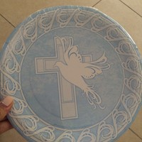 Used Plates Napkins And Cups For Boy Baptism in Dubai, UAE