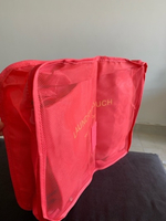 Used Travel Laundry Wash bag Pink in Dubai, UAE
