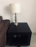 Used Side table with lamp in Dubai, UAE