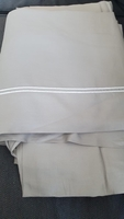 Used Flat and fittet sheet, Zara Home, Queen in Dubai, UAE