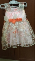 Used Girls dress pink size 3 to 4 years in Dubai, UAE