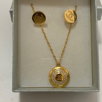 Used Chanel Necklace and Earrings set in Dubai, UAE