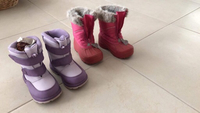 Used Snow boots for sale. Size 8 and 9.  in Dubai, UAE
