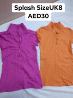 Used 2pcs Splash Basic Tee in Dubai, UAE