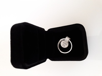 Smart Ring Silver size 10