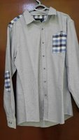 Piere gartin Blue Steel Mens shirts new