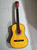 Used Cort classic Guitar with 6 new strings in Dubai, UAE
